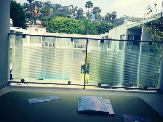 Sunset Marquis: Room with a LA view