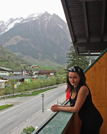 Hotel Wasserfall: Balkon