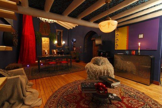 The Guest House at Fallen Angel: Vista del primer piso de una de nuestras habitaciones
