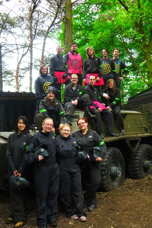 Delta Force Paintball Kegworth: The Winning Team! (US!)