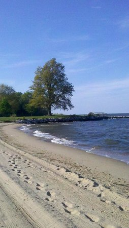 Sandy Point State Park: Taken by Cecilia Fritsch on May 3rd, 2013