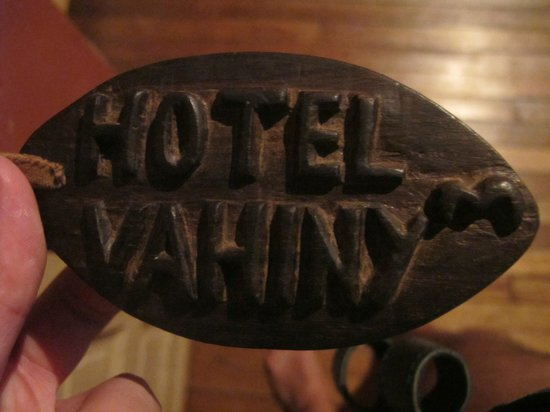 Hotel Le Vahiny: The key