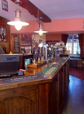 The Black Lion Hotel : great service & food ��