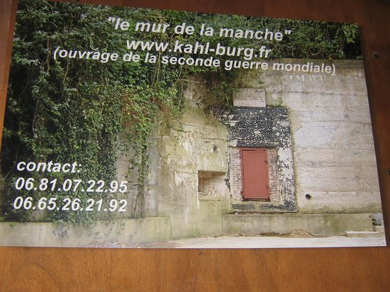Le Kahl Burg: la porte d'entrée du Kahl burg (en domaine privé maintenant !)