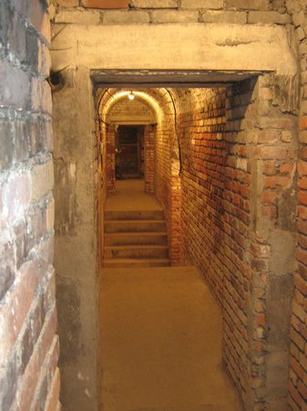 Le Kahl Burg: un des nombreux passages et couloir