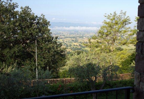 Hotel La Terrazza: Uitzicht vanuit de kamer