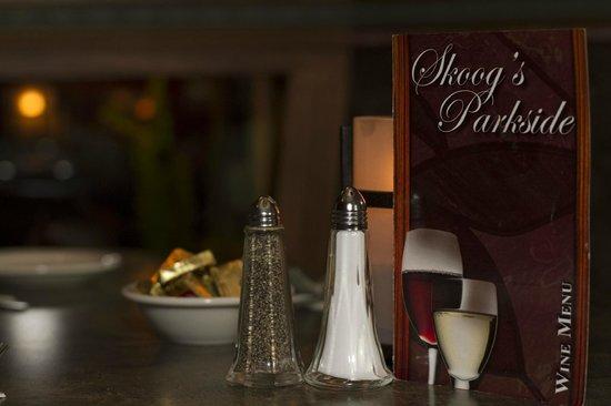 Skoog's Parkside Supper Club: wine menu