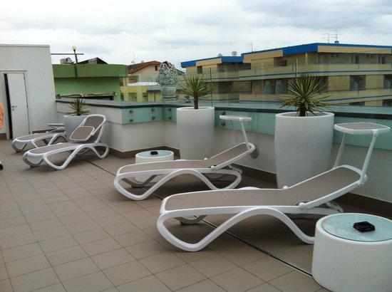 Hotel Imperiale: Solarium - area benessere