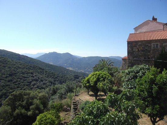 Villa les Orangers : View from terrace / balcony