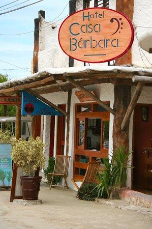 Hotel Casa Barbara: From Street