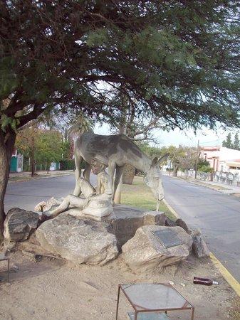 Hostal Hispania: El serrano y el burro.