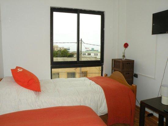 B&B CasaMoro Hostel: habitacion doble dos camas