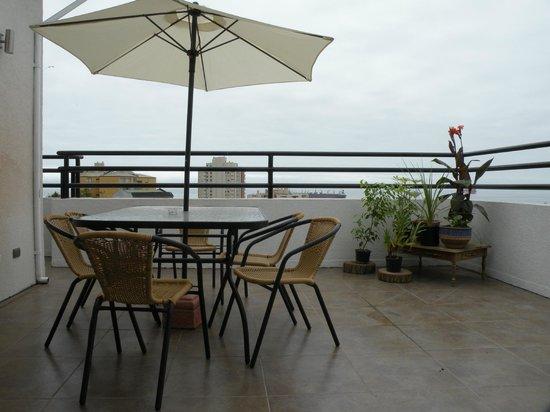 B&B CasaMoro Hostel: terraza