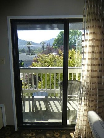 BEST WESTERN Corte Madera Inn: View of balcony
