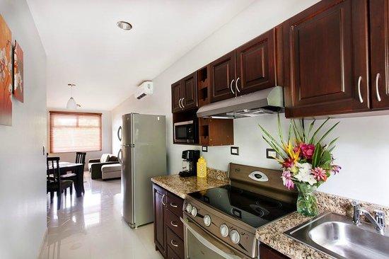 Hacienda Pacifica: Apartement´s kitchen