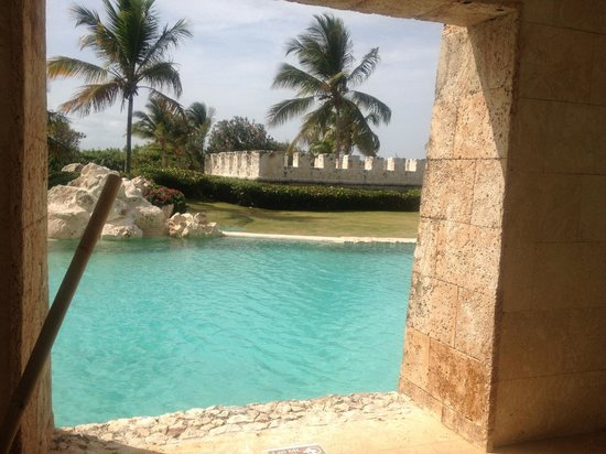 Sanctuary Cap Cana by AlSol: View from the room - Castle Swim Out