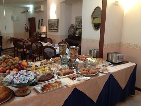 Hotel Europa: abbondante colazione