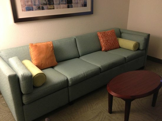 SpringHill Suites Nashville Airport: Room 108 - Couch