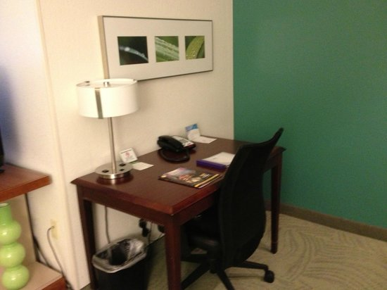 SpringHill Suites Nashville Airport: Room 108 - Desk
