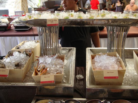 Beach Republic The Residences: Sea food counter from Sunday Brunch
