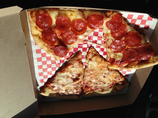 Crust Pizzeria : $ 12.00 for 2 slices of pizza... Unreal