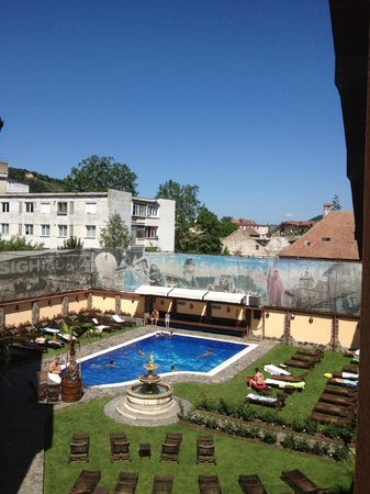 Korona Hotel: Vistas desde la habitación