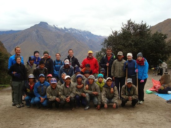 Our Enigma Inca Trail party