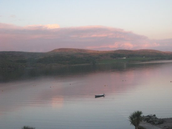 The Royal an Lochan: 10pm view from the window of room 6