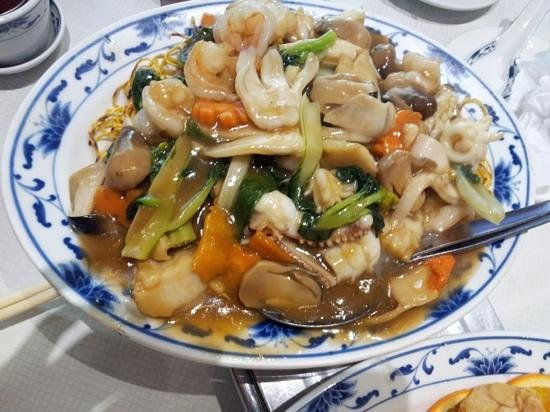 Loon Fung Restaurant: Seafood Chow Mein