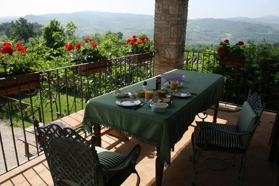 La Fattoria dei Montanari : view from the terrace