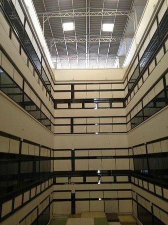 Rose Hotel: corridor