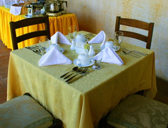 La Casona de Antigua: Comedor