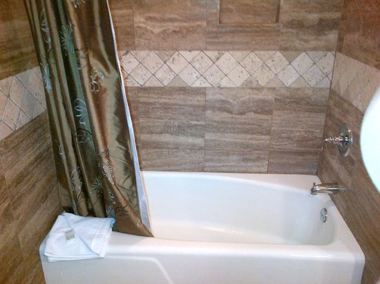 Treasure Mountain Inn Hotel and Conference Center: nice bathtub/shower