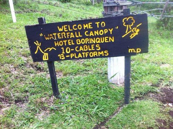 """Hotel Borinquen Mountain Resort: """"Canopy"""""""