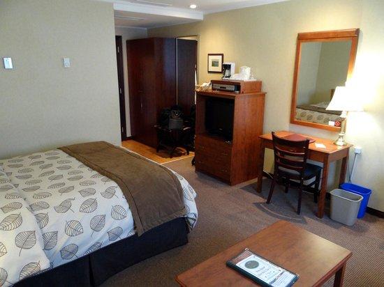 Hotel des Eskers: My bedroom