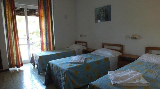 Hotel Villa Celeste: Pokoj, zdjecie uchwycone po sprzataniu przez obsluge