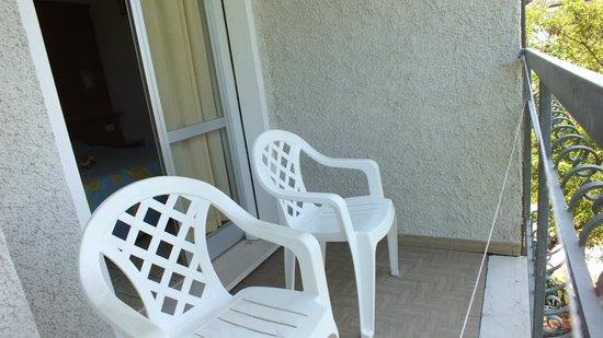 Hotel Villa Celeste: Balkon