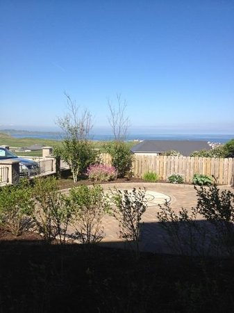 Strandhill Lodge and Suites Hotel: view from bedroom