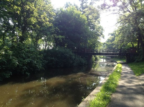 Hanley Park: Caldon Canal