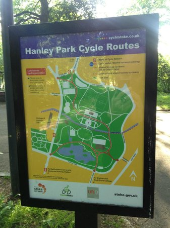 Hanley Park Cycle Routes