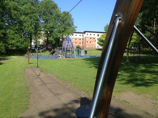 Hanley Park: Children's play area