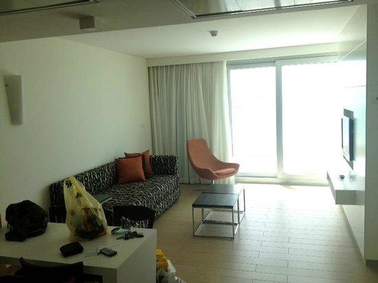 West Boutique Hotel Ashdod: Living Room