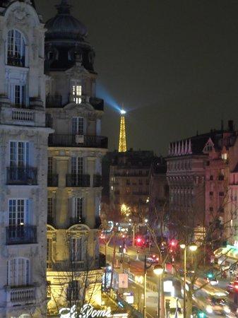 Raspail Montparnasse Hotel: Vista desde la Habitacion