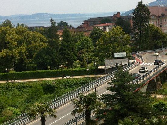 Hotel Alpi : Uitzicht van kamer
