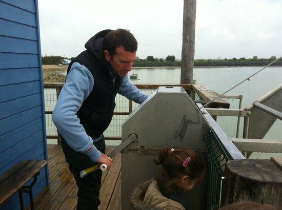 Côté Océan : Séance de pêche au carrelet