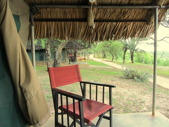 Tarangire Safari Lodge: View from tent