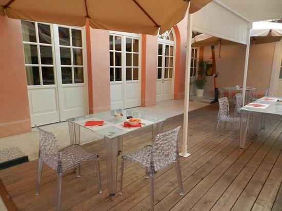 Villa Fenaroli Palace Hotel : colazione seterno