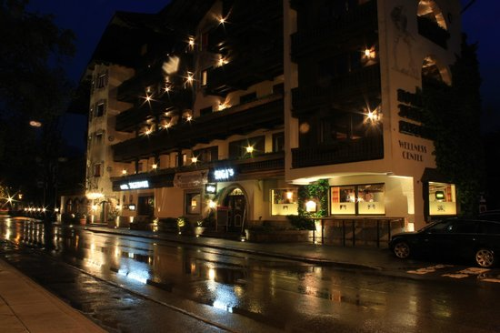 Jägerwirt Hotel: A welcome sight on a damp night