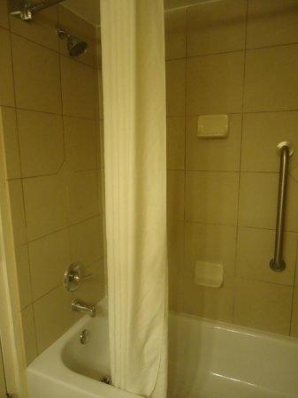 Wingate by Wyndham Tampa/At USF: Baño con ducha y bañera