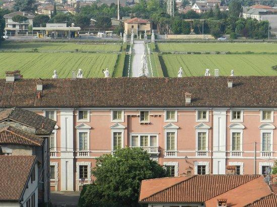 Villa Fenaroli Palace Hotel : vista dall'alto